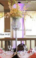 vase en verre de cylindre transparent grande décoration de la fleur 123 vase pour centres de table de mariage