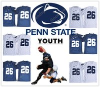 YOUTH Penn State Nittany Lions 9 Trace McSorley 26 Saquon Ba...