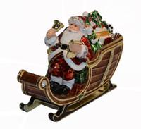 الديكور خمر عيد الميلاد الأب الحلي المربع الدائري حلية عيد الميلاد هدية زخرفة حامل قلادة قلادة