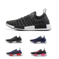 Pitch Black adidas NMD R1 Primeknit fashion
