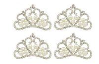 10pcs cristalli placcato argento perle perline strass per mestiere scrapbooking nuovo arredamento da sposa
