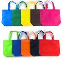 20pcs / lotto il marchio su misura Come vendere 20pcs pugno manico a buon mercato non tessuto shopping bag