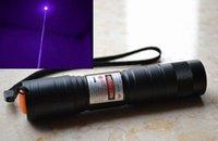 Бесплатная доставка синяя фиолетовая лазерная указка высокая мощность регулируемая фокус + зарядное устройство