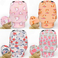 Wholesale- 6pcs Nursing Cover Breastfeeding Baby Cotton Anim...