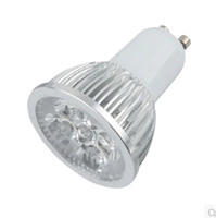 4W GU10 E27 عكس الضوء LED الأضواء لا 4x3W حقيقي 4x1W GU 10 Bombillas بقعة الأضواء مع المصابيح 4led الأضواء النازل 110V 220V CE روش