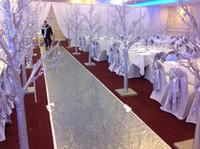 Düğün dekorasyon vazolar ve uzun boylu çiçek standları / düğün sahne sütunları / plastik ağacı