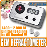 Wholesale-Digital Gemology Gemstone 1.4~2.0 RI Gemological Diamond Jewel Gem Refractometer
