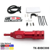 Tansky-Car Sport Racing Adjustment Polonês Preto Manual Boost Controller Universal MBCTurbo Para Honda Evo Wrx TK-BXBC008