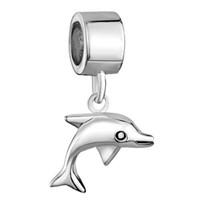 شنتشن المصنع مباشرة بيع الروديوم تصفيح لطيف الدلفين استرخى سحر الخرزة صالح باندورا سوار كاميليا بياجي