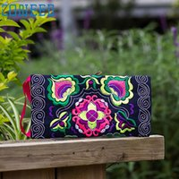 Wholesale- May 31 Mosunx Business Women Ethnic Handmade Embr...