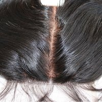 10A Top silk base closure 4x4 virgin brazilian hair lace top...
