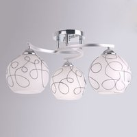 Minimalist Glass Study Room Ceiling Lamps Modern Bedroom Cei...
