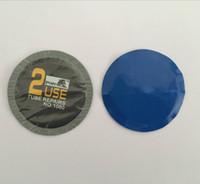 30 teile / schachtel // 57mm runder schlauchloser reifenreparatur-patchstecker Schlauchreifenreparaturpflaster