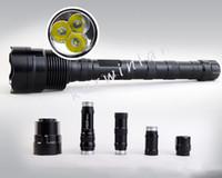 الصمام trustfire TR-3T6 الصمام مشاعل 3800 lm التكتيكية مشاعل للماء كري الشعلة أضواء للتخييم الصيد مع حزمة البيع