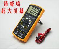 LCD 디지털 멀티 미터 AC DC 옴 볼트 미터 DT9205A