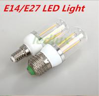 G9 \ E27 \ E14 6W lampade a led luce 220 V 110 V Lampadina Mais SpotLight Candela lampadario di cristallo illuminazione domestica Spedizione gratuita