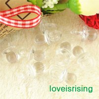 Free shipping- - 500pcs Mini Acrylic Clear White Baby Pacifier...