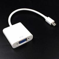 미니 DisplayPort 디스플레이 포트 DP Thunderbolt Apple iMac 미니 Mac Pro MacBook Air에 대 한 여성 VGA HD TV 어댑터 케이블