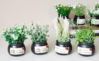 New Mini Bonsai Simulation Decorative Artificial Flowers Fak...