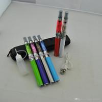 Elektronische Zigarette Micro USB Passthrough UGO-T 650 mah-1100mah Batterie Ugo Ego T Kit mit Fall ce4 CE5 Vaporizer Zerstäuber Vape Stift Kits DHL