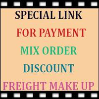 Spezieller Link Für Zahlung, gemischte Bestellungen, Sonderrabatt, Frachtgut oder Für Sie kaufen das Produkt wie wir uns einig sind