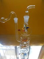 Best wholesalers ----- 2015 new windmill style stained glass hookah + set of accessories (walk the plank, pot roast, straw)