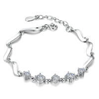 Guardian 1, 314, 925 sterling silver bracelet female cute simp...