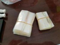 Guaina termorestringente Pellicola trasparente per involucro in PVC per 5 ml 10 ml 15 ml 20 ml 30 ml 50 ml Bottiglia di plastica E Bottiglia di liquido Banda termoretraibile 2000 pz / lotto