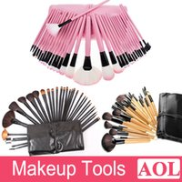 Professional brush set !wholesale 32 pcs makeup brush set Ma...