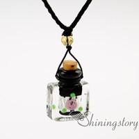 diffuseur médaillon diffuseur aromathérapie pendentif colliers bouteille de parfum vintage collier diffuseurs diy diffuseur collier huile essentielle