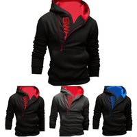 Fall- Mens' Long Sleeve Hoodie Hooded Sweatshirt Tops Ja...