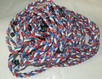 2015 NUEVO titanio trenzado 3 cuerdas collar tornado deportes béisbol béisbol nuevo tornado collar
