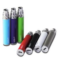 Elektronische Zigarette UGO T Batterie Mit USB Durchgangsbatterie 650mAh 900mAh 1100mAh EGO T Batterie Passend für alle 510 Zerstäuber E Zig Batterien