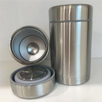 Fogão térmico Thermo Food Jar 500 ml Cook Food Over a Slow Fire 17oz Aço inoxidável isolado Double Wall Vacuum Cup Caneca de Café