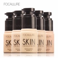 Focallure Maquiagem Moisturizing Liquid Foundation 8 Colors ...