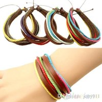Fashion Men' s Women' s Surfer Tribal Wrap Multilaye...