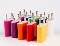 HOT 5V 1A Colorful EU US Plug USB Wall Charger AC Power Adap...