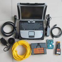 BMW ICOM A2 B C Programlama Teşhis Aracı için Son Yumuşak eşya içinde CF-19 i5 4g dizüstü kullanıma hazır