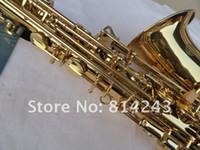 Marka Xinghai Eb Saxphoone Alto Öğrenci Bemol Alto Saksafon Yüzey Altın SAX-100 Sax Profesyonel Müzik Enstrümanı Boya