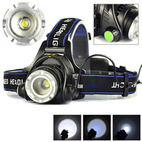 3000LM Cree XML- L2 XM- L T6 Led Headlamp Zoomable Headlight W...