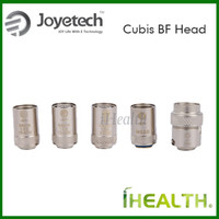 Autêntico Joyetech cubis BF SS316 0.5ohm 0.6ohm 1.0 ohm BF Clapton1.5ohm BF Ni 0.2ohm cabeça da bobina