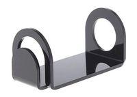 Espositore da tavolo in acrilico e cig con supporto per auto nero colore bianco supporto per vape mech mod 18650 eig sigaretta elettronica ecig ego DHL