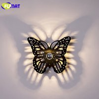 FUMAT Simple Wall Lamps Restaurant Sconce Stairs Shadow Wall...