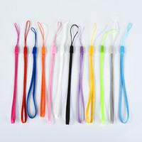 Handgelenkhandhandy bewegliche Kettenbügel keychain Charme-Schnüre DIY hängen Seil Lariat-Abzugsleine