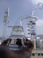 bong heady glass bongs water pipes recycler glass bong 14mm ...