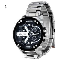 Men' s Casual Style Waterproof Quartz Wristwatches Alloy...