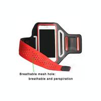 Бренд спорт тренажерный зал велосипед цикл бег трусцой работает лайкра повязку мобильного телефона чехол для iPhone 6 6 S Samsung Galaxy S4 S5 S6 S6 край повязки