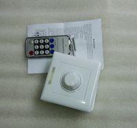 1 unids Venta caliente Infrarrojo 14-Key Triac Dimmer 110V 220V Perilla Triac LED Dimmer Switch para Dimmable Bulb / Spotlight / Downlights
