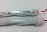 DC 12V 0.5m 36LEDS 5050 SMD LED Rigid Strip Lights Bar Hard Artikel Lamp SMD5050 Niet-Waterdichte Strips Lichten WW / CW 12 Volt Ce Rosh