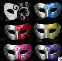 Mens jazz Maske Halloween Maskerade Masken Venezianische Tanzparty Maske Kostenloser Versand G762